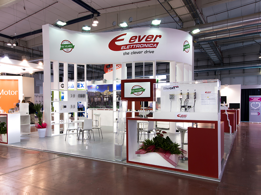 ULTIMO STAND REALIZZATO: EVER ELETTRONICA - SPS 2017